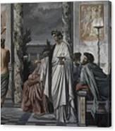 Plato's Symposium Canvas Print