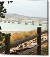 Platte-winner Bridge Canvas Print