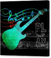 Play 4 Canvas Print