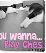 Play Chess? Canvas Print