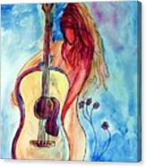 Play Me A Song Canvas Print