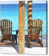 Playa Azul 2 Canvas Print