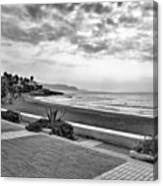 Playa Burriana, Nerja Canvas Print
