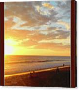 Playa Hermosa Puntarenas Costa Rica - Sunset A One Detail Two Vertical Poster Greeting Card Canvas Print