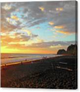 Playa Hermosa Puntarenas Costa Rica - Sunset A One Canvas Print