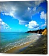Playa Negra Canvas Print