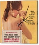 Playboy Magazine Poster Signed Canvas Print