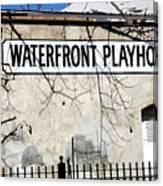 Playhouse Canvas Print