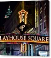 Playhouse Square Up Close Canvas Print