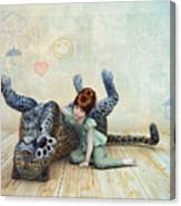 Playmate Canvas Print