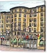 Plaza- Boston Canvas Print