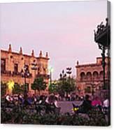 Plaza De Armas, Guadalajara, Mexico Canvas Print