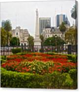 Plaza De Mayo In Buenos Aires-argentina  Canvas Print