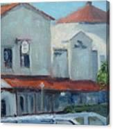 Plaza Del Mar Canvas Print