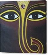 Pleasant Ganesha Canvas Print