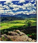 Pleasant Valley Colorado Canvas Print