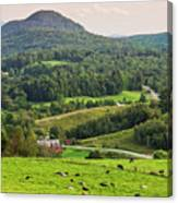 Pleasant Valley Countryside Canvas Print