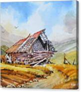 Pleasent Valley Barn Canvas Print