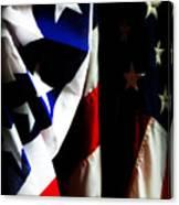 Pledge To The Usa Canvas Print