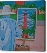 Plein-air Painter Canvas Print