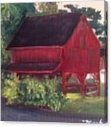 Plein Aire 7-12-16 Canvas Print