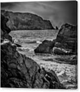 Plemont Rocks Canvas Print