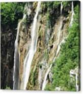 Plitvice Croatia Waterfalls 2 Canvas Print