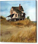 Plum Island Shack Canvas Print