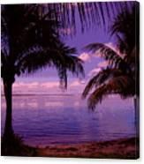 Plum Paradise Canvas Print