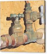Plumbing Canvas Print