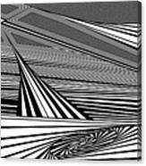 Plunk Canvas Print