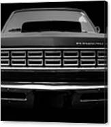 Plymouth Fury - Black Canvas Print