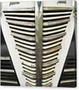Plymouth Grille Canvas Print