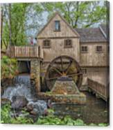 Plymouth Grist Mill Canvas Print