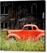 Plymouth Hot Rod Canvas Print