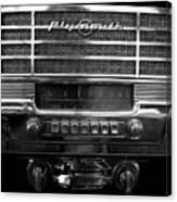 Plymouth Radio Canvas Print