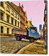 Plzen In Hdr Czech Republic Canvas Print