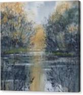 Pm River 2 Canvas Print
