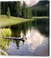 Poage Lake Canvas Print