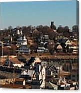 Point Allerton From Fort Revere Canvas Print