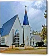 Point Clear Alabama St. Francis Church Canvas Print