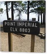 Point Imperial Canvas Print