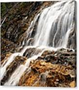 Point Lace Falls 1 Canvas Print