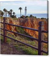 Point Loma Lighthouse California Canvas Print