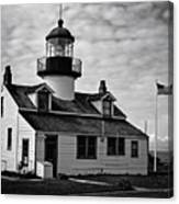 Point Pinos Pacific Grove Lighthouse Canvas Print