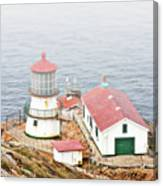 Point Reyes Lighthouse At Point Reyes National Seashore Ca Canvas Print