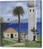 Point Vicente Lighthouse Canvas Print