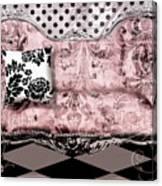 Poitrine Rose Canvas Print