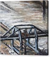 Pojizdnej Jerab Canvas Print