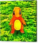Pokemon Go Charmander - Da Canvas Print